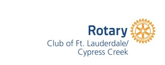 Rotary Club of Ft. Lauderdale/Cypress Creek